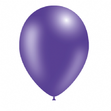 "Metallic Purple 5 inch Balloons - Decotex 5"" Balloons 100pcs"